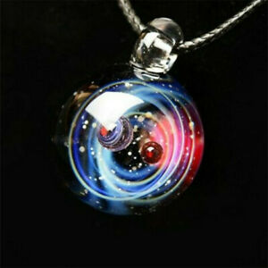 Universe-Crystal-Necklace-Galaxy-Glass-Ball-Fashion-Planet-Necklace-Jewelry-Gift