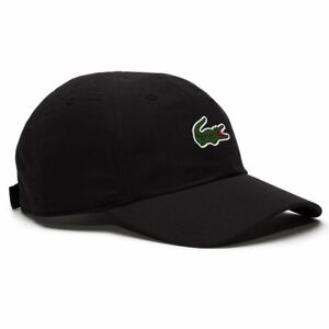 53f656041b822 Image is loading Lacoste-Pem-Cap-Black-Men