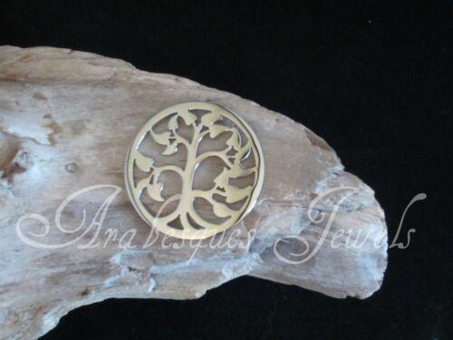 Pequeño coin//moneda árbol nuevo para una verdadera mi Milano necklace//carrier//locket Colgante