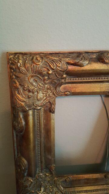 Beautiful Ornate Gold Victorian Decorative Picture Frame 8X10