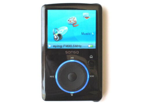SanDisk Sansa Fuze 4GB SDMX14R FM MP3 Player Color Choose