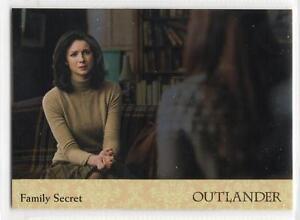 Outlander-Season-2-2017-RAINBOW-FOIL-BASE-Card-70-FAMILY-SECRET