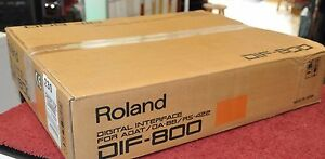 Roland-DIF-800-Digital-Com-Interface-DIF800-For-Adat-DA-88-RS-422-Made-Japan