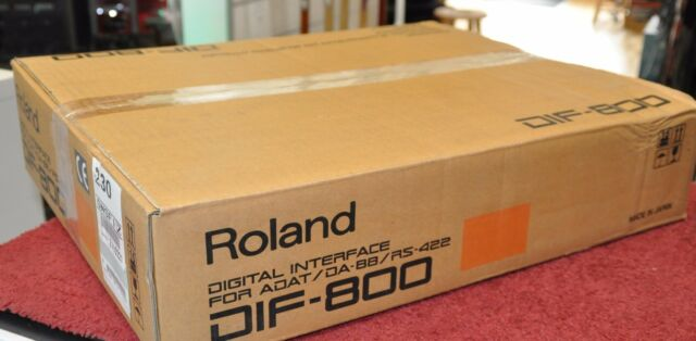 Roland DIF-800 Digital Com Interface DIF800 For Adat / DA-88 / RS-422 Made Japan
