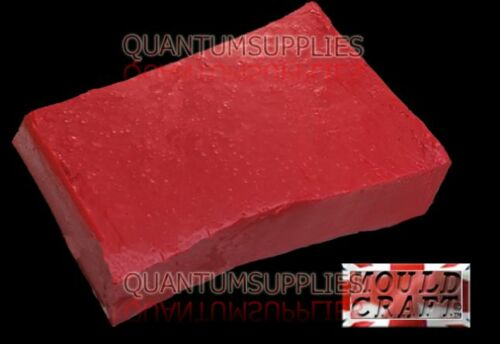 Vinamold Red Hot Pour Reusable Mould Making Rubber 250g