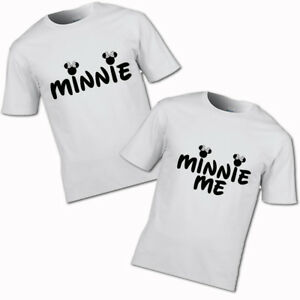 Minnie And Minnie Me T Shirt Mum Kids Mother S Day Mother Daughter Son Family Ebay
