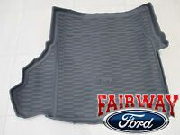 15 Thru 17 Mustang Genuine Ford Black Cargo Area Protector Mat W/ Subwoofer