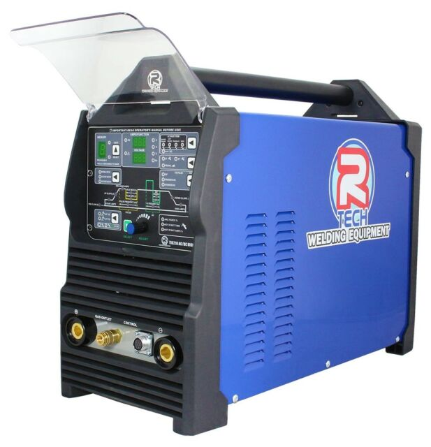 Used Welders For Sale >> R Tech Tig Welder Digital Ac Dc 210 Amp 240v Single Phase