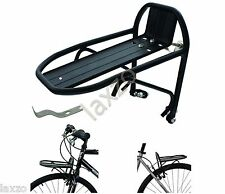 Bicycle  Mini Pannier Rack - Front Rear  Pannier Rack Carrier 24-28 Bike Luggage