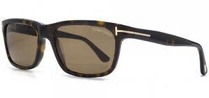 Tom-Ford-Hugh-Men-039-s-Sunglasses-FT0337-56J-Made-In-Italy