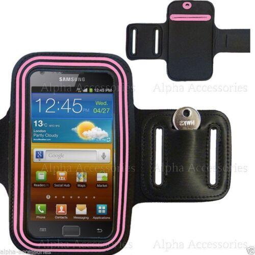 Sports Laufen Joggen Fitness Armband Tasche Aufbewahrung für Samsung Galaxy S2