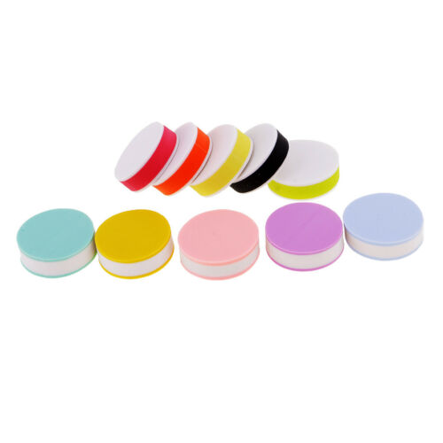 10pcs Round Rubber Carving Blocks for DIY Rubber Stamp Making Embossing 25mm