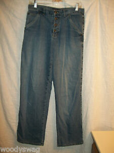 DKNY-Jeans-Size-6-10-inch-Rise-100-Cotton-Inseam-30-Button-Fly