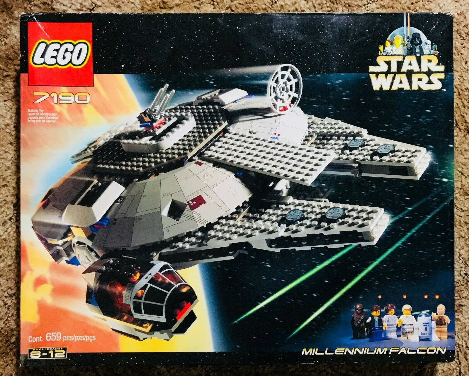 Lego 7190 Faucon Millenium-Star Wars Ep. 4 - 1st edition, New in Box    RARE