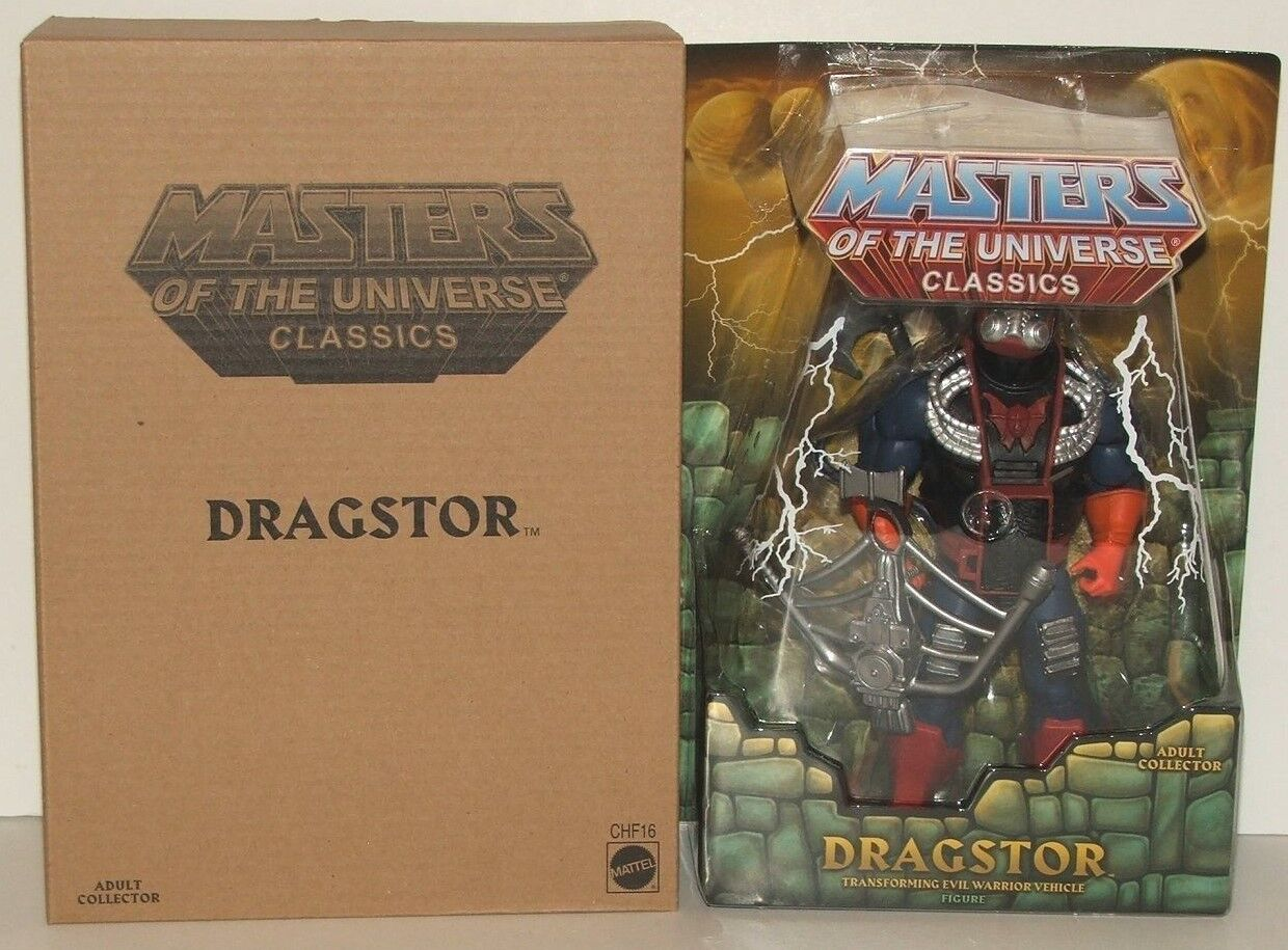 Mattel Masters of the Universe Classics 2015 Dragstor Figure MOC Limited Edition