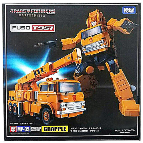 100/% Authentic Takara Tomy JP Transformers G1 Masterpiece MP-35 Grapple