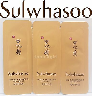 Sulwhasoo Essential Rejuvenating Eye Cream EX 20pcs Anti Wrinkle Amore Pacific