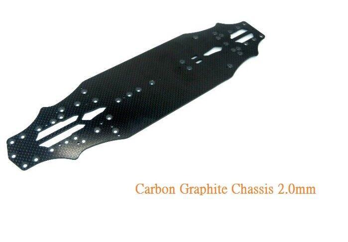 omaggi allo stadio Vigor autobon Graphite Graphite Graphite Chassis 2.0 mm for Yokomo BD7-2016 TH015-Y20  servizio onesto