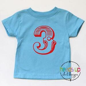 Image Is Loading 3rd Birthday Circus Party Shirt Toddler Boy Girl