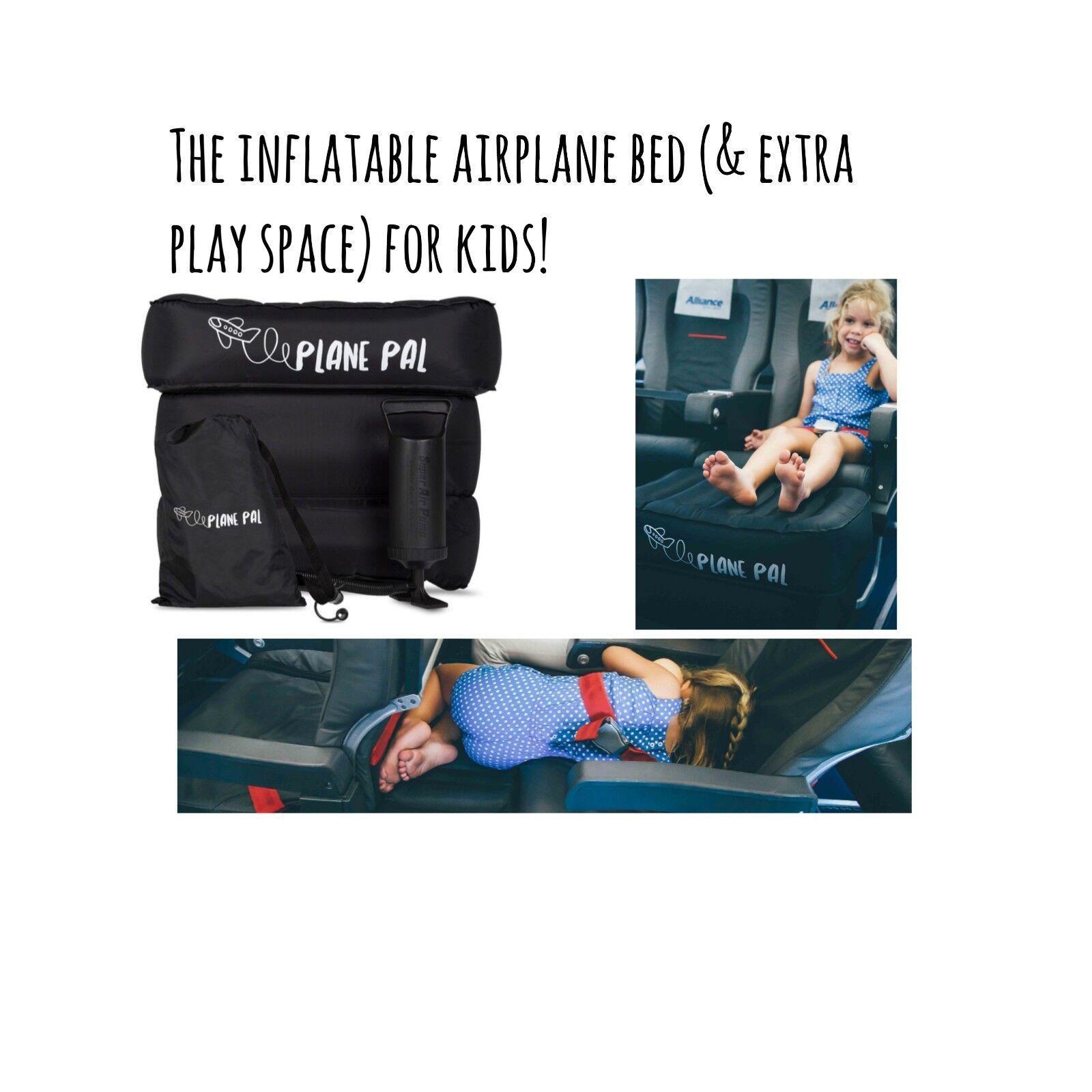 Piano PAL GONFIABILE SEAT Extender Bambini Aeroplano Aereo Cuscino legrest jetkids