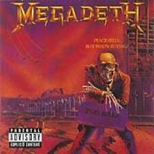 Megadeth Peace Sells But Who's Buying CD+Bonus Tks NEW SEALED Remixed/Remastered