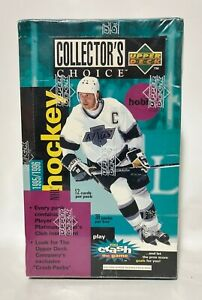 1995-Upper-Deck-Collectors-Choice-NHL-Hockey-Card-Box-36-packs-Factory-Sealed