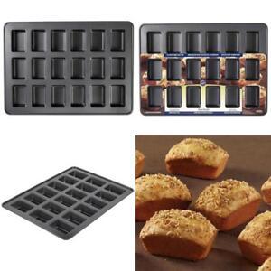 Wilton Perfect Results Premium Non-Stick Bakeware Mini Loaf Pan, 18-Cavity