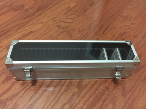 Aluminum Storage /& Display Box Case Holds 25 PCGS NGC ANACS Coin Holders Slabs