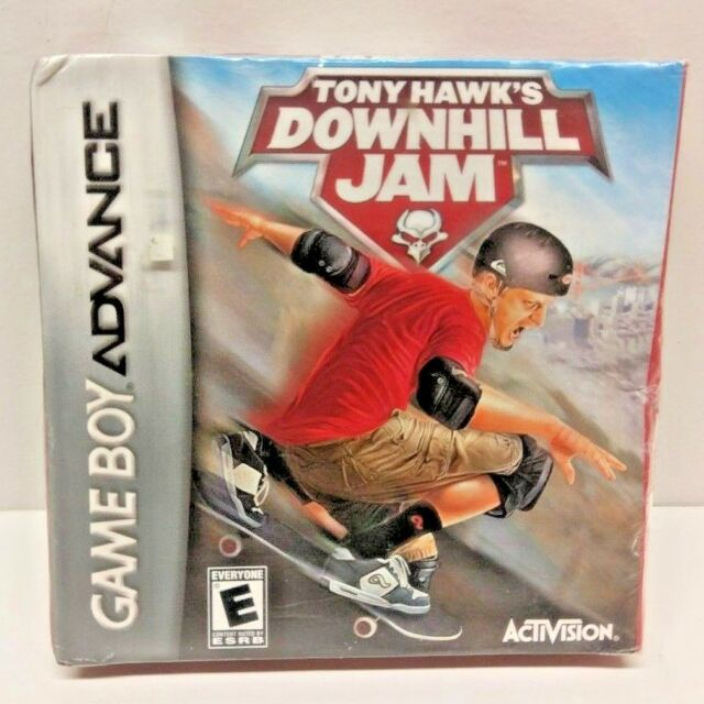 Tony Hawk's Downhill Jam neuf scellé Nintendo Game Boy Advance livraison gratuite
