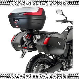 Portapacchi GIVI SR3101M x Bauletti Monolock Suzuki V-Strom 650 L2 2011//2013