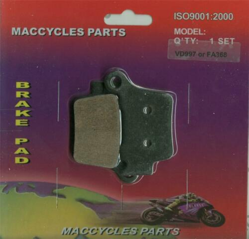 1 set KTM Disc Brake Pads SX250 2003-2014 Rear
