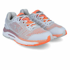 Under Armour Womens HOVR Guardian Running Shoes Trainers Sneakers Grey Orange