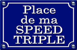 29cm AUTOCOLLANT STICKER MOTO PR037 PLACE DE MA GSXR