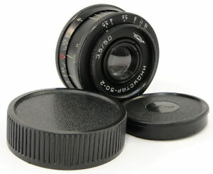 1972-First-Release-INDUSTAR-50-2-USSR-Pancake-Lens-Adapt-Fuji-X-Mount-FX