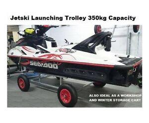Jetski-Launching-Trolley-Cart-Boat-Launching-Trolley-Galvanised