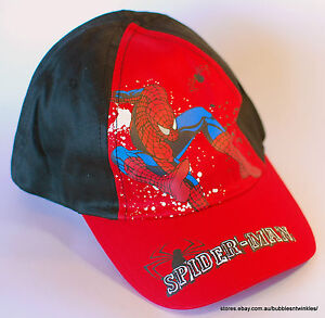 Details about NEW Baseball Hats Caps Kid s - Cool Spiderman designs! 2  Sizes 52 54cm 2 Left! 051b549c04dc