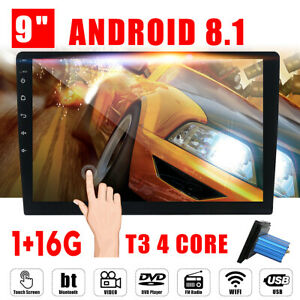 9-039-039-Android-8-1-Quad-core-Car-Stereo-Radio-bluetooth-Navigation-GPS-Wifi-1G-16G