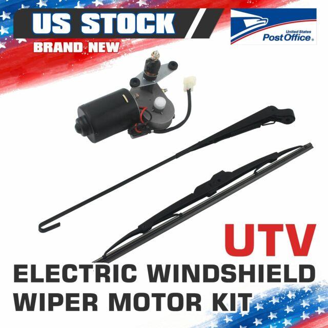 UTV Electric Windshield Wiper Motor Kit tank for Polaris Ranger RZR 900