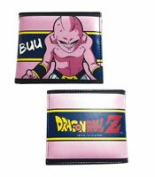 Dragon Ball Z Kid Buu Anime Officially Licensed Adult Bi-fold Wallet on sale