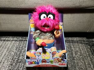 Disney Junior Muppet Babies Rockin/' Animal Feature Plush