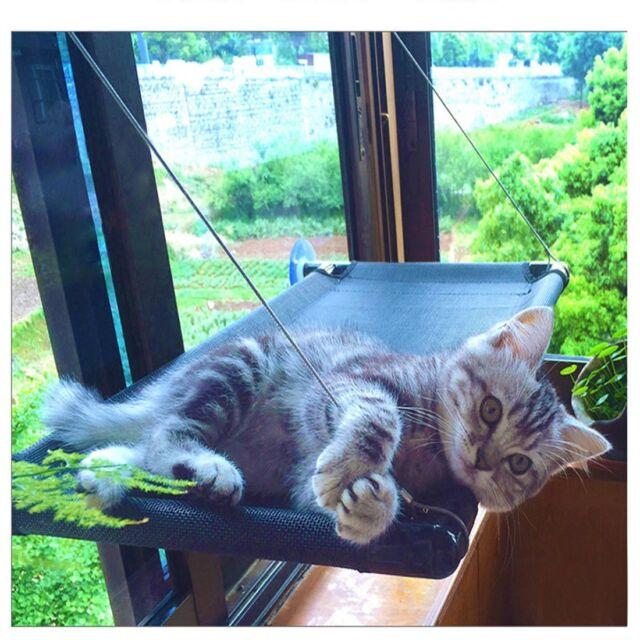 Amazing Cat Bed Window Hammock Perch Kitty Sunny Seat Cradle Mat Pet Perch Bedding