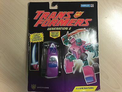 Transformers G2 hasbro HOT ROD Illuminators MOSC new mint generation 2 european
