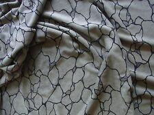 Tissu 09 Léger velours ras synthétique gris190x230 synthetic short velvet fabric