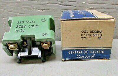 22D156G3 GE Coil 208-220V