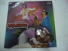 NAYA KHOON USHA KHANNA 1988  RARE LP RECORD orig BOLLYWOOD VINYL india VG+