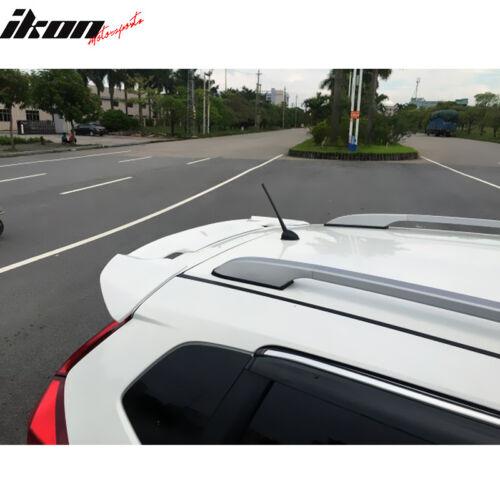 Fits 15-18 Honda Fit USDM JDM RS Style ABS Roof Spoiler Wing /& LED Brake Light