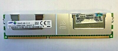 HP 715275-001 32GB 4Rx4 PC3-14900L DDR3-1866 ECC LRDIMM 708643-B21 712384-081