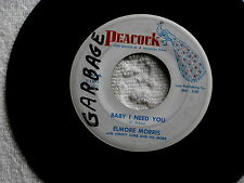 ELMORE JAMES~BABY I NEED YOU~WHAT CAN I DO FOR YOU~PEACOCK 1691~~ R&B 45