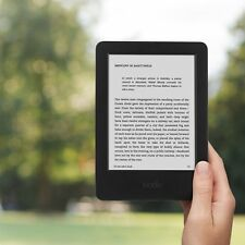 "Kindle e-Reader 6"" Glare-Free Touch Display Wi-Fi Nero 8th generazione più recente 2016 NUOVO!"