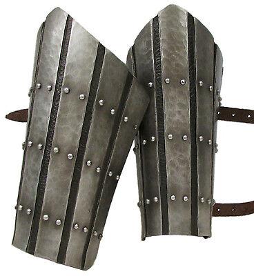 Larp Armour medieval splint wrists, vambraces, bracers, SCA, Theatrical, LRP